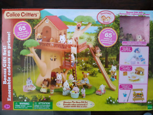 Brand New Calico Critters Tree House
