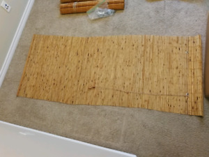 """72""""x30"""" Bamboo Blinds - excellent condition"""