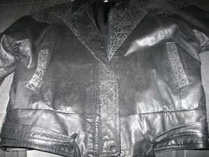 Ladies Black Soft Leather Jacket