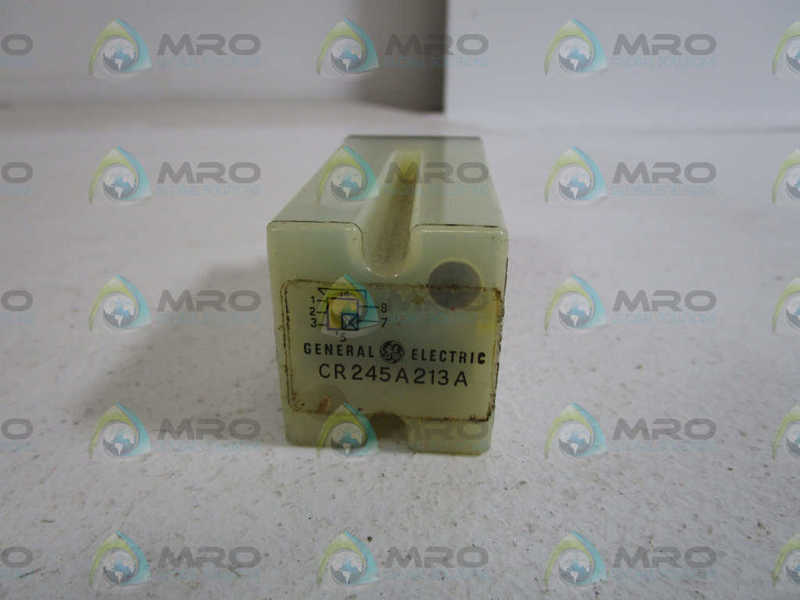 GENERAL ELECTRIC RELAY MODULE CR245A213A *USED*