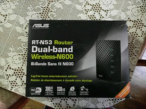 Asus Rt-N53 dual band router.