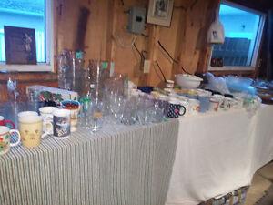 WHOLE SALE KITCHEN ITEMS FOR SALE.PLATES,GLASSES,MUGS,POTS,PANS Edmonton Edmonton Area image 3