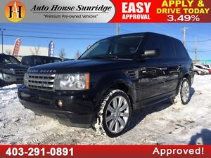 2009 Land Rover Range Rover Sport SUPERCHARGED, REAR DVD, AWD, L