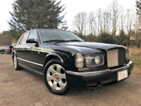 BENTLEY ARNAGE 'MULLINER RED LABEL' LEFT HAND DRIVE 6.8 TURBO PETROL AUTO BLACK