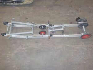 POLARIS 2002 144'' REAR SUSPENSION , MISSING FRONT/ REAR SHOCKS