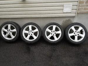 Mazda 6 BFGoodrich g force sport 215 50 17 w/ rim mag wheel roue