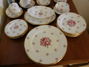 Beautiful Vintage Set Royal Stafford Bone China England Dishes