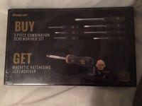 Snap on anniversary screwdriver set