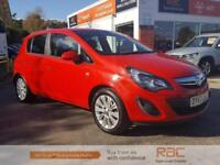 VAUXHALL CORSA SE 2013 Petrol Automatic in Red