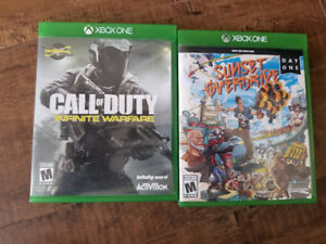 Call of duty infinite warfare and sunset overdrive