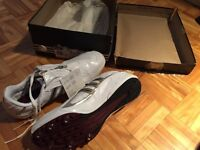Adidas track & field shoes size 8