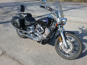Yamaha V Star motorcycle