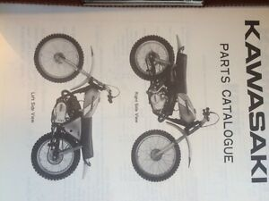 75 76 77 78 Kawasaki KD125 A3 Parts Catalogues Regina Regina Area image 2