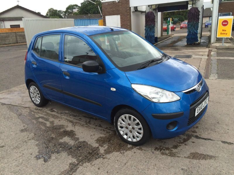 2010 hyundai i10 1 2 classic in arbroath angus gumtree. Black Bedroom Furniture Sets. Home Design Ideas