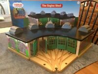 Thomas & Friends: Engine Shed/Roundhouse in box (Wooden Railway)