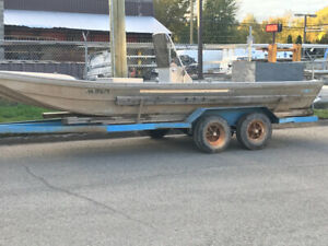 20' valco jet boat project