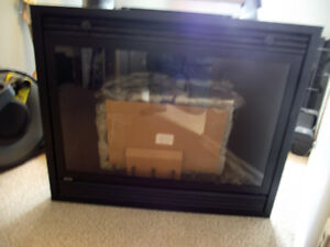 NEW never used natural gas fire place