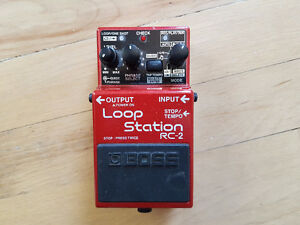 Boss RC-2 Loop Station pedal