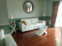 Fully furnished Beautiful 3 br, 1.5 bath townhouse-available Sep