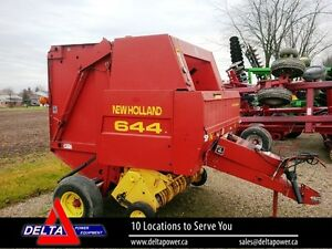 1997 New Holland 644 Round Baler London Ontario image 1