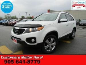 2013 Kia Sorento EX  AWD LEATHER ROOF CAM HS DUAL-CLIMATE BUTTON