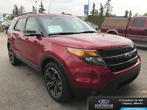 2013 Ford Explorer Sport  - Leather Seats -  Cooled Seats -  Blu