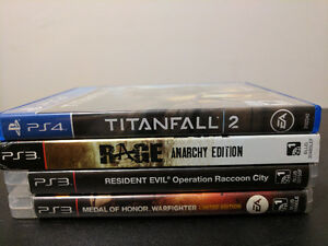 Titanfall 2 PS4 and other PS3 games