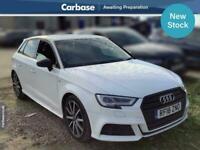 2018 Audi A3 1.5 TFSI Black Edition 5dr S Tronic HATCHBACK Petrol Automatic