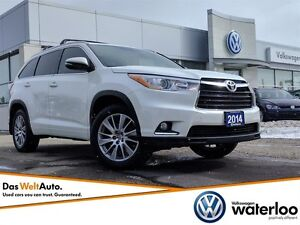 2014 Toyota Highlander XLE AWD - 3rd Row! - New Price!