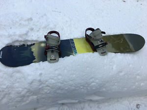 Burton Board and Bindings
