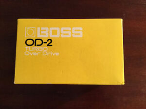Boss OD-2 Pedal Made in Japan
