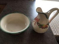Jug and Bowl - very good Condition, antique in the family