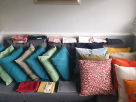 New and newish cushion and cover
