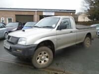 2005 05 MITSUBISHI L200 2.5 4WORK GL LWB 4WD 1D 114 BHP DIESEL