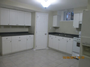 Clean and spacious basement apartment with separate entrance