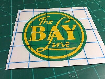 Bay Line Railroad Decal