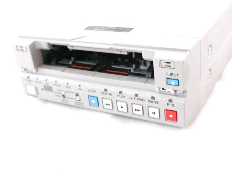 PLAY NTSC PAL DVCAM MiniDV Mini DV Tapes w/ Sony DSR-11 Player Recorder VCR Deck
