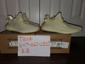 8b12eabfa Yeezy 350 V2 Butter Size 9 and 9.5