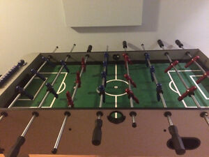 Foozball table