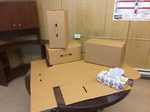 Boites carton solide pour demenagement, Strong boxes for moving