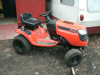 "Trade New 42"" cut Ariens lawn tractor 4 touring bike needing TLC"