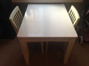 Pottery Barn Kids Table & 2 chairs