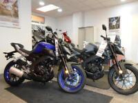 Yamaha MT 124.7cc 125 ABS Naked 2015MY 125