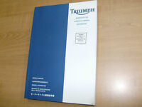 TRIUMPH FACTORY SERVICE MANUAL