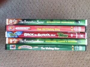The Berenstain Bears DVDS