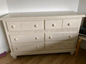Large 6 drawer chest for sale.