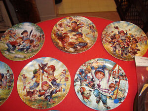 2 sets of collectors plates and jean ratelle plate Kingston Kingston Area image 2