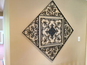 Metal wall art piece for sale
