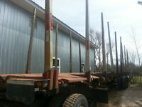 2006 BWS 5-Tier Log Trailer