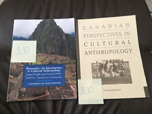 Anthropology 111 Textbooks
